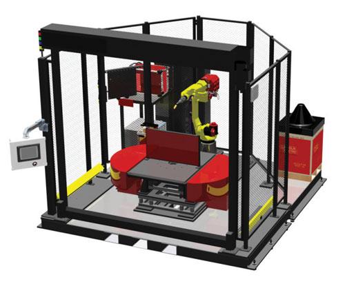 طراحی چیدمان تجهیزات در سلولهای رباتیک